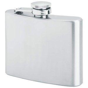 Maxam® 4oz Stainless Steel Flask